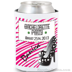 Bachelorette Party Full Color Coolie