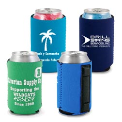 Magnetic Neoprene Can Coolies